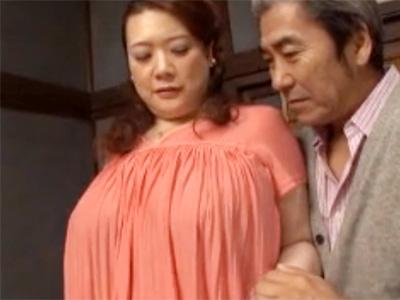 【五十路熟女動画】ぽっちゃり巨乳おばさんが弱みを握られ濃厚セックス…おっぱいを激しく揺らし昇天!