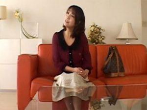 【四十路熟女動画】旦那とはセックスレスで欲求不満のFカップ巨乳美熟女がAV面接…即ハメ撮りセックス!