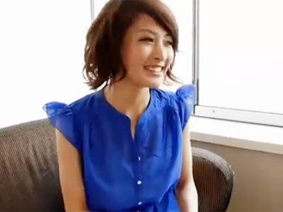 【若妻熟女動画】SNSで知り合った素人美人妻を口説き落としてビジネスホテルでハメ撮りセックス!
