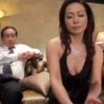 【松下美香熟女動画】高級クラブの五十路美熟女ママが閉店したお店でお客さんと枕営業セックス!