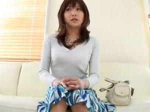 【若妻熟女動画】旦那とはご無沙汰で欲求不満の20代素人の美人妻がAV出演…他人棒でハメ撮りセックス!