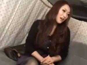 【ナンパ熟女動画】街角アンケートと騙して30代素人のHカップ巨乳セレブ奥様をゲッド…SEX交渉しラブホで中出し!