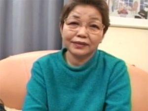 【高齢熟女動画】還暦を迎えた20年間セックスしてない美熟女眼鏡おばあちゃんがAV出演…久しぶりのチンポで中出し!