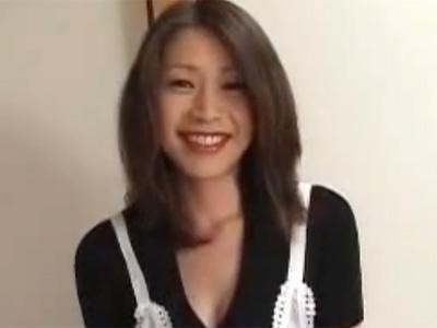 【友田真希無修正熟女動画】四十路のEカップ美巨乳美熟女が他人棒をご奉仕して本気セックス!