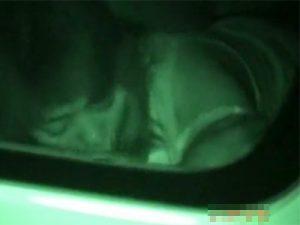 【盗撮熟女動画】ラブホまで我慢出来ず車内で不倫セックスしてる40代素人の美人妻を 赤外線カメラで隠し撮り!