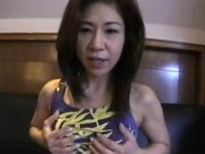 【四十路熟女動画】夫とはご無沙汰なEカップ美巨乳美人奥様がラブホで他人棒でハメ撮りセックス!