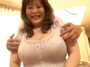 【五十路熟女動画】ぽっちゃり爆乳美人妻がAV出演…セックスレスで久しぶりの中出しエッチで絶頂しまくり!