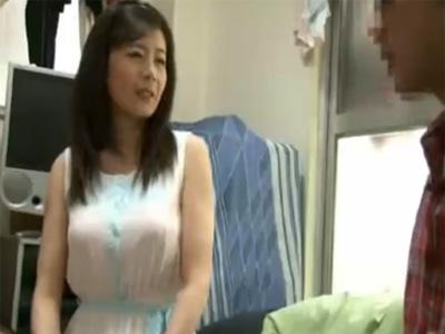 【三浦恵理子熟女動画】四十路のFカップ巨乳美熟女が素人宅に訪問してハメ撮りセックスする夢の企画!