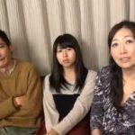【五十路熟女動画】父母娘3人でエッチなゲームに参加…父親のチンポを勃起&射精させたら賞金ゲット!
