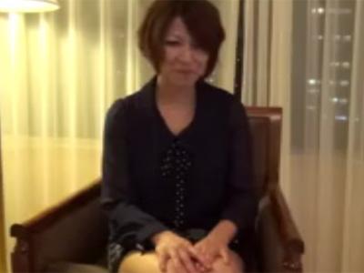 【五十路熟女動画】エッチ大好きな素人奥様がサイトに自ら応募してAV撮影に参加して中出しSEX!