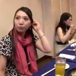 【四十路熟女動画】スリムで綺麗な奥様が合コンで若い男と知り合って泥酔してお店のトイレやホテルで浮気SEX!