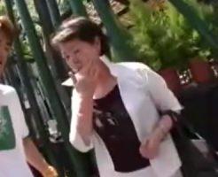 【熟女・人妻に中出し動画】商店街で60代素人のお婆ちゃんを捕獲…生挿入で閉経マンコに大量中出し!