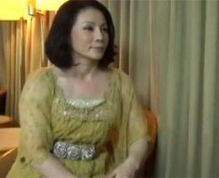 【五十路無料動画】五十路素人の淫乱ゴージャス妻をホテルに連れ込み浮気SEXでマジイキ!