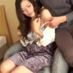 【ナンパ熟女動画】色気溢れる40代素人のDカップ巨乳奥さんを捕まえてホテルに連れ込み中出しSEXでイカせる!