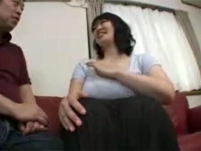 【四十路熟女動画】セックスレスで欲求不満なGカップ巨乳のドスケベ奥さんがAV出演…久々のエッチに悶絶!