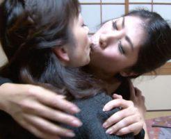 【四十路無料動画】若々しい四十路なオバサン二人が久しぶりの再開でねっとりなレズビアンエッチ