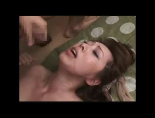 【SEX熟女動画】風間ゆみ ムチムチ巨乳な美女な熟女が2人掛かりで犯される3P調教セクロス。連続顔射で精液まみれのアクメ昇天。